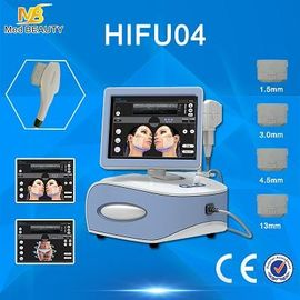 Trung Quốc Portable Hifu Machine Beauty Equipment Superficial Deel Dermis And SMAS nhà phân phối